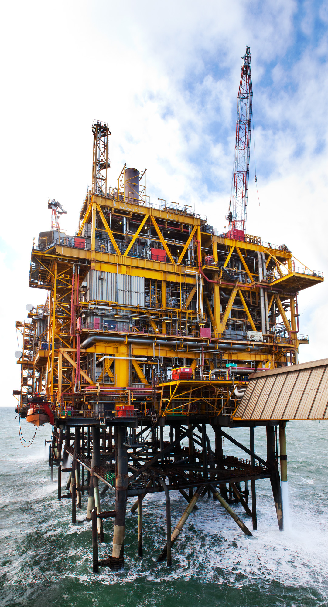 Morecambe Bay gas rig
