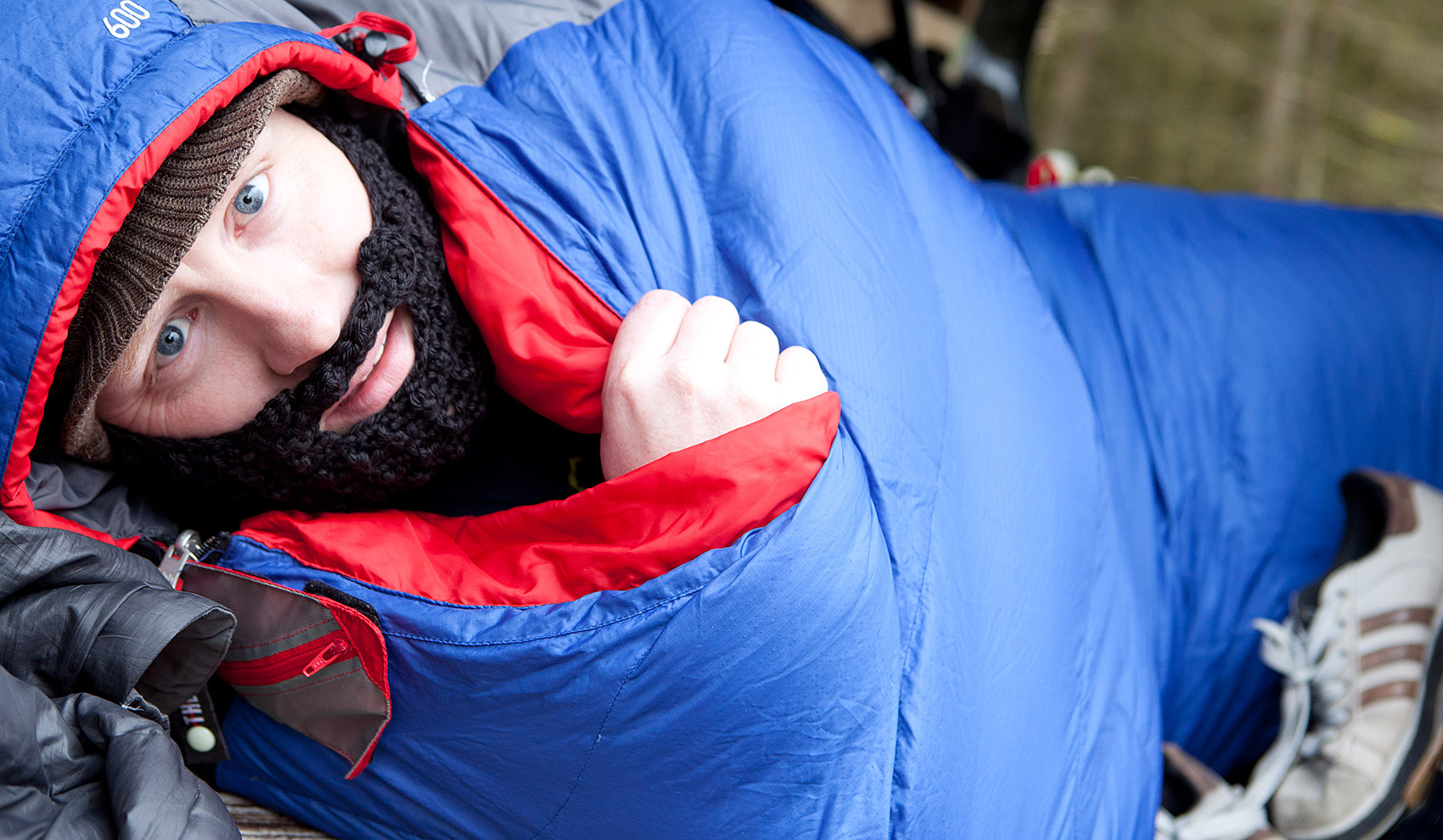 Beard Beanies - sleeping bag