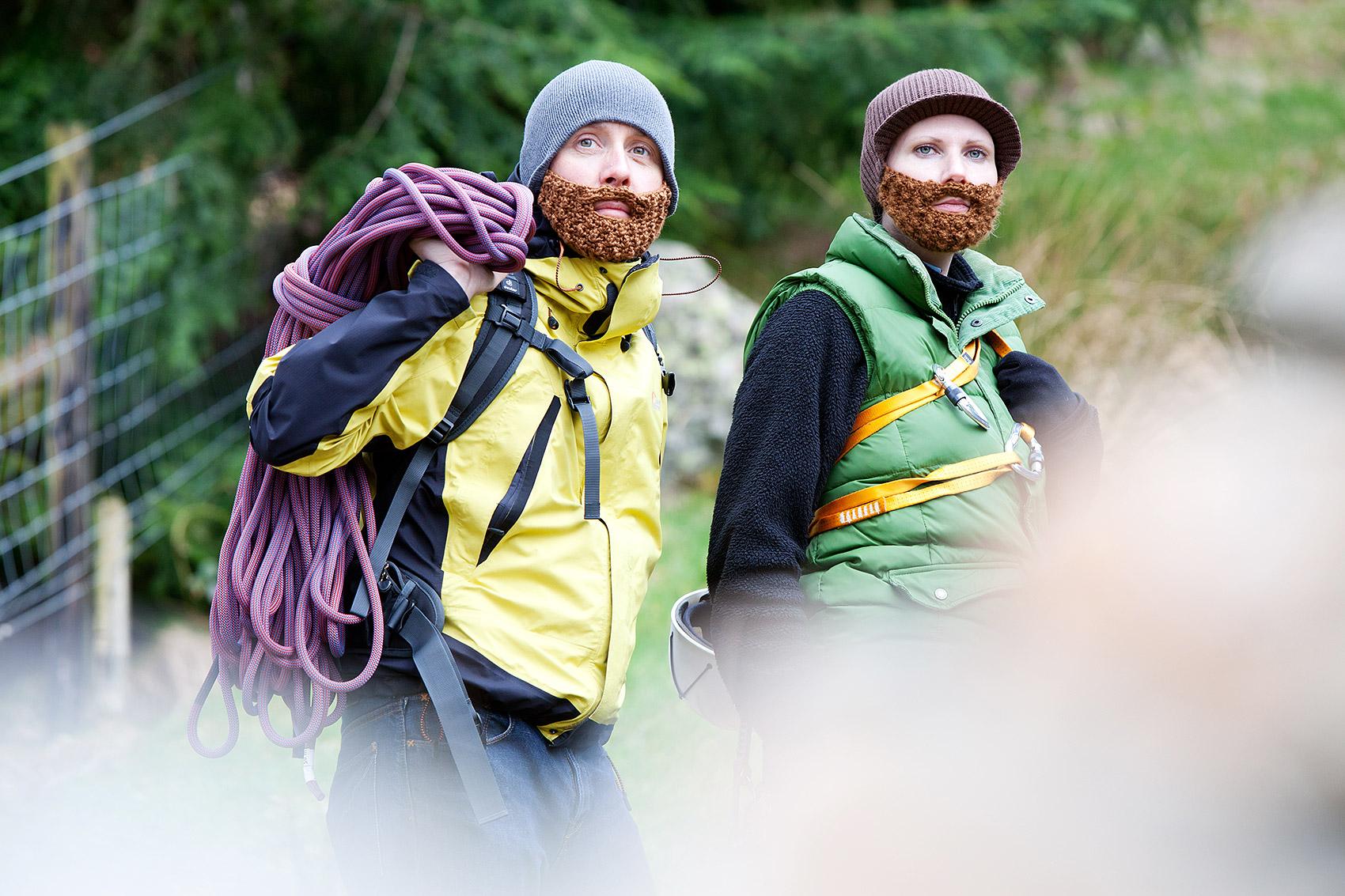 Beard Beanies - climbers