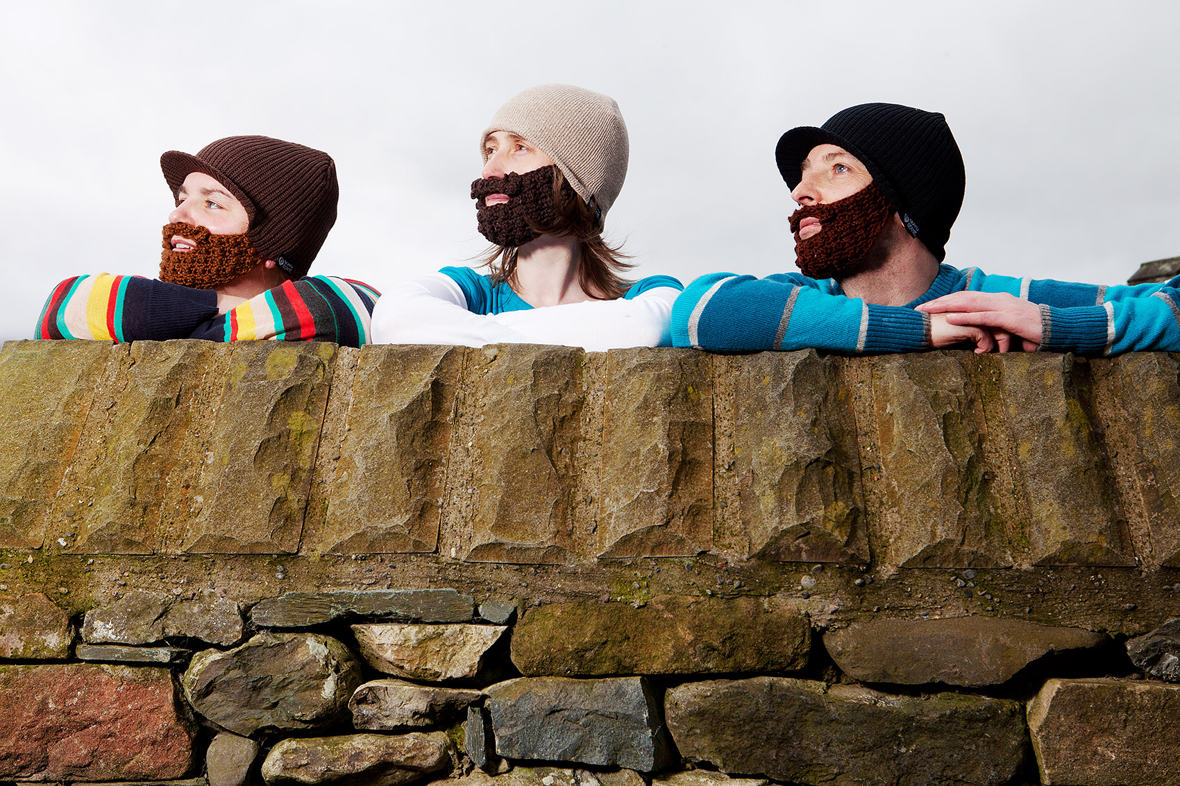 Beard Beanies - Lake District